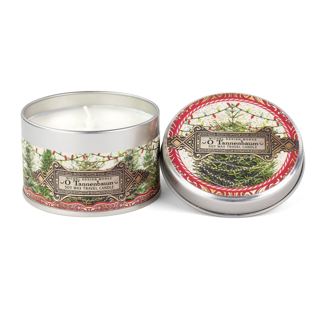 O Tannenbaum Travel Candle
