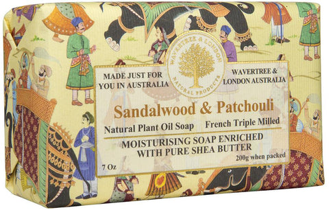 Sandalwood & Patchouli Imported Bar Soap