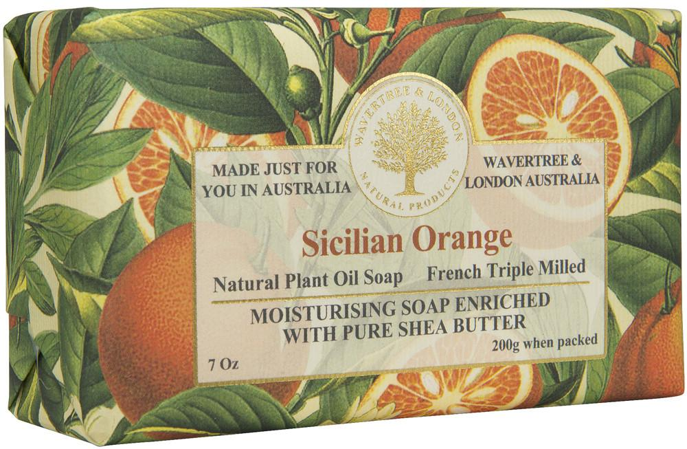 Sicilian Orange Imported Bar Soap