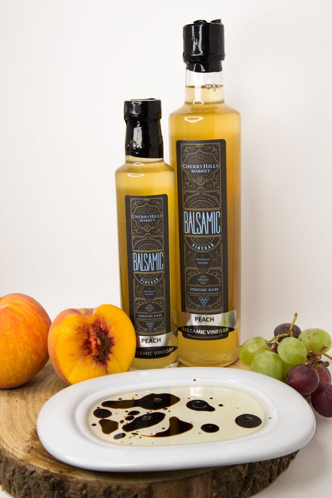 White Peach, Aged Balsamic Vinegar