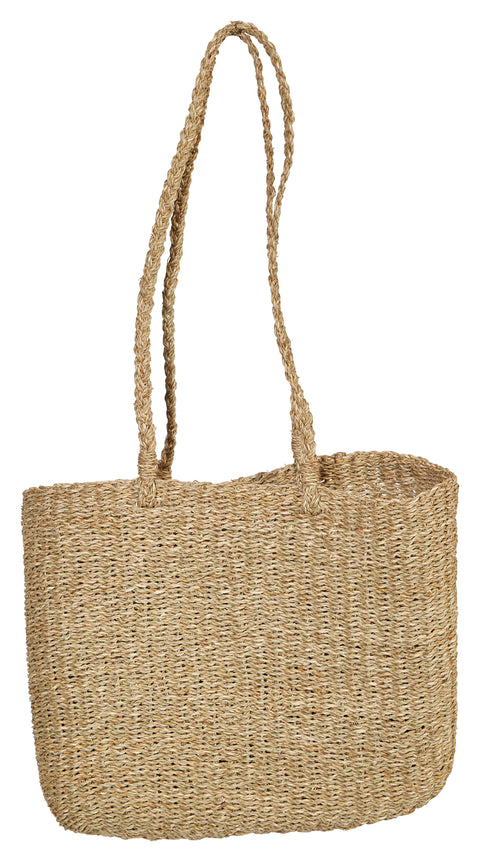 Handwoven Seagrass Tote Bag