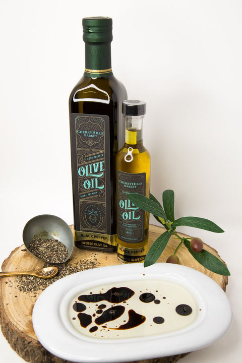 Black Pepper, Ultra Premium - Extra Virgin Olive Oil