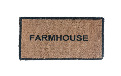 "Farmhouse Doormat (32""L x 16""W)"