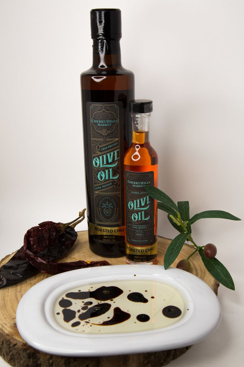 Roasted Red Chili, Ultra Premium - Extra Virgin Olive Oil
