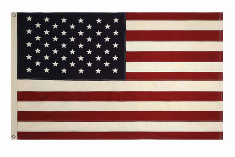 "60"" x 36"" Fabric USA Flag wit Grommets"