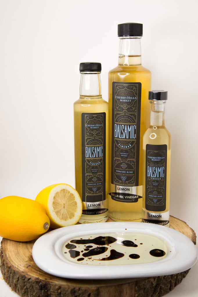 Lemon, Aged Balsamic Vinegar