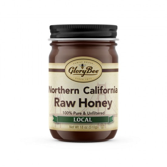 Northern California RAW Honey (18oz)