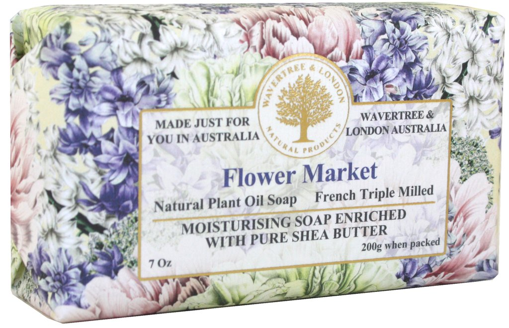 Flower Market Imported Soap