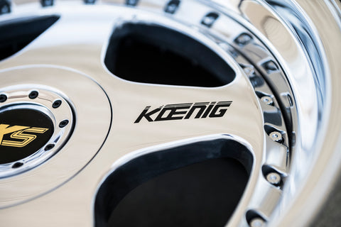 Koenig Spoke Decals