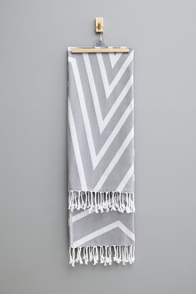 Smoke Grey Ayla Hammam Havlu Towel