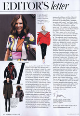Editors Letter November 16, 2016 | Fashion Magazine | Wully Outerwear Press