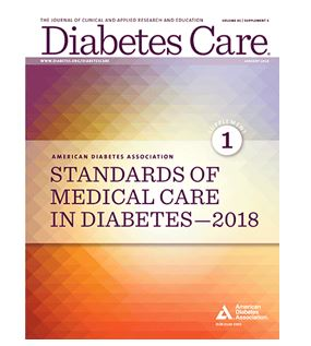 Now Available | ADA 2018 Standards of Medical Care in Diabetes