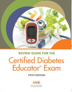NEW AADE Certified Diabetes Educator® Review Guide 5th Edition - PICK UP in San Diego