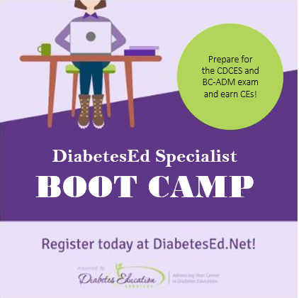 DiabetesEd Specialist Boot Camp | Level 3 Online - 12+ CEs