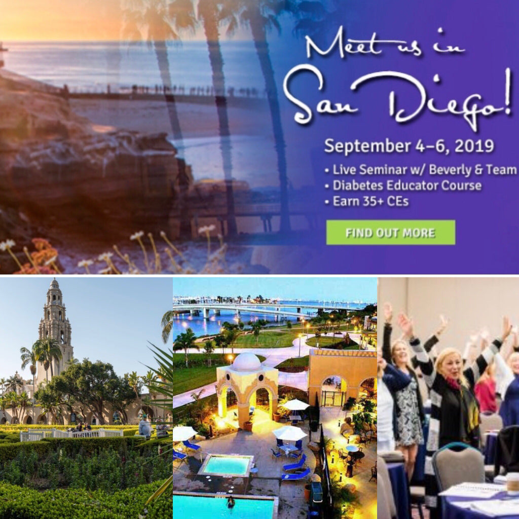 Diabetes Educator Course | San Diego, CA - September 4 - 6, 2019 |  Earn 39 CEs