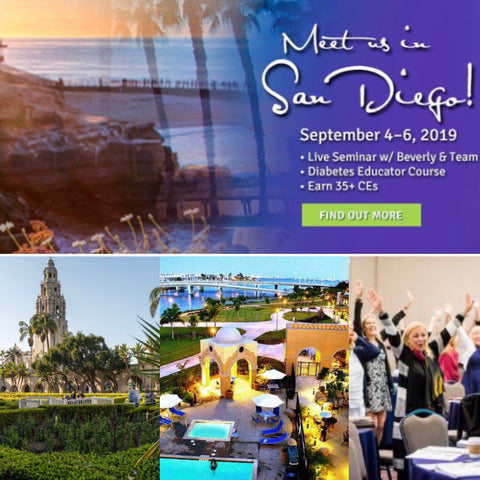 Diabetes Educator Course | San Diego, CA - September 9 - 11, 2020 |  Earn 38 CEs