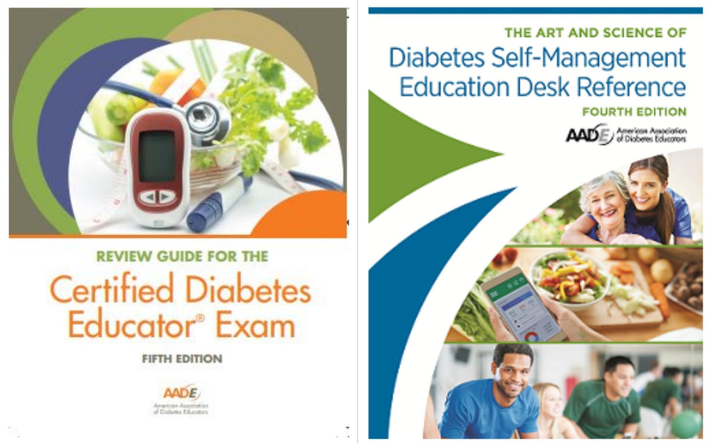 AADE Desk Reference & New AADE 5th Edition Review Guide Bundle | Pick up at Live Seminar