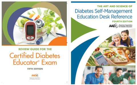 AADE Desk Reference & New AADE 5th Edition Review Guide Bundle - PICK UP in San Diego