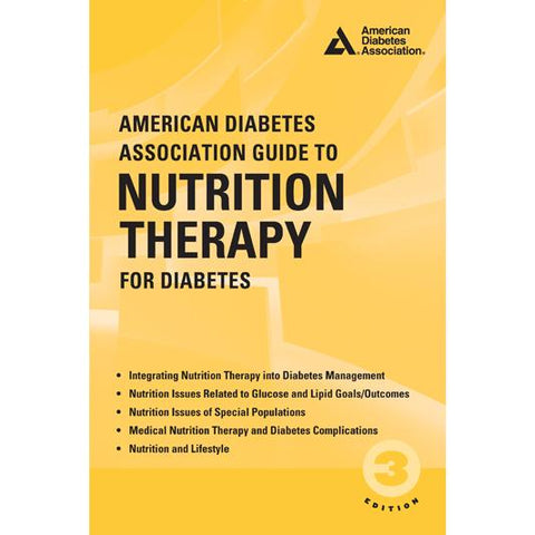 ADA Guide to Nutrition Therapy for Diabetes, 3rd Edition