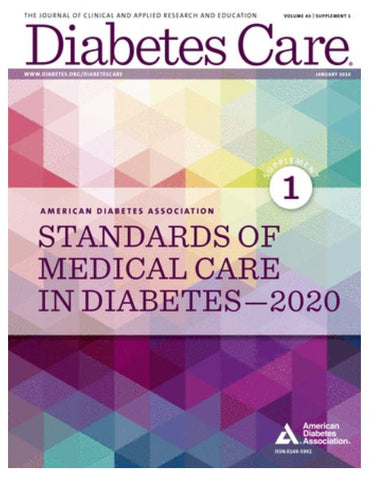 On Sale: ADA 2020 Standards of Medical Care in Diabetes
