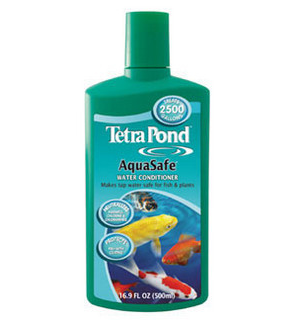 Tetra Pond AquaSafe Pond Formula - 8 Oz.