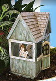 THE FAIRY SHACK W/ HINGED DOOR