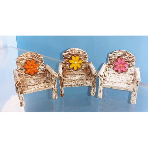 Fancy Flower Chair