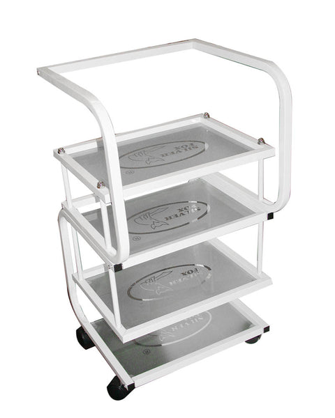 Classic Trolley 2 With Frosted Shelves