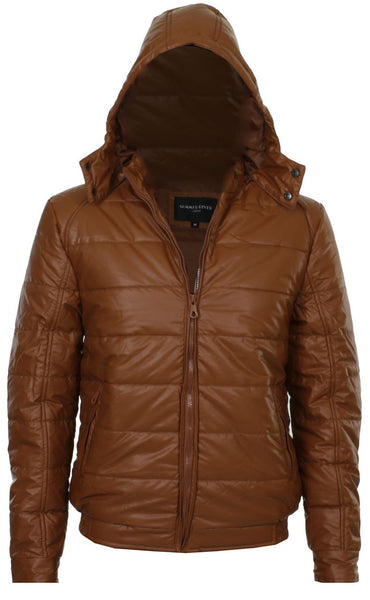 Brown Padded Jacket