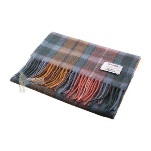 100% Scottish Lambswool Tartan Scarf