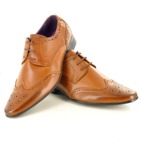 Chester Tan Brogues