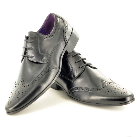 Chester Black Brogues