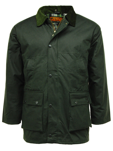 Olive Barker Wax Jacket