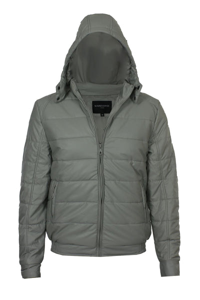 White Padded Jacket