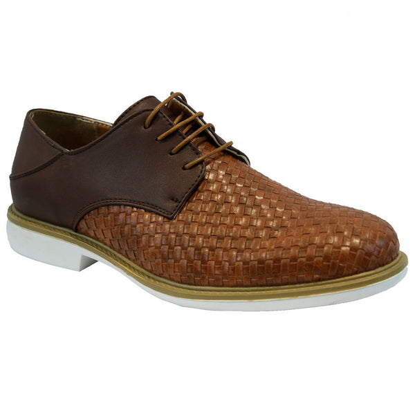 Brown Stylish Lace Up Shoes