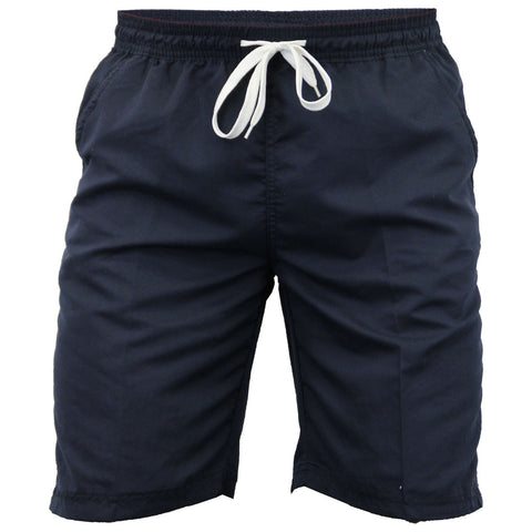 Navy Knee Length Swimming Shorts