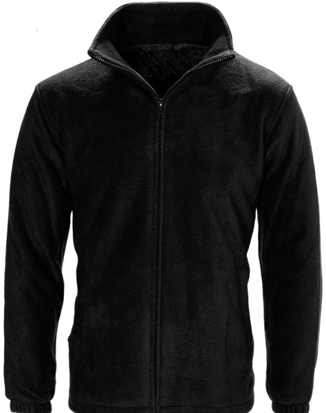 Black Polo Fleece Jacket