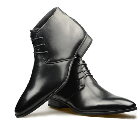 Black Smart Ankle Boots