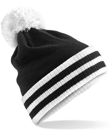 Black & White Bobble Beanie