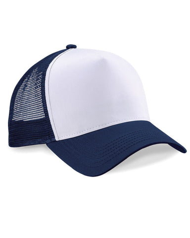 Blue & White Trucker Baseball Cap