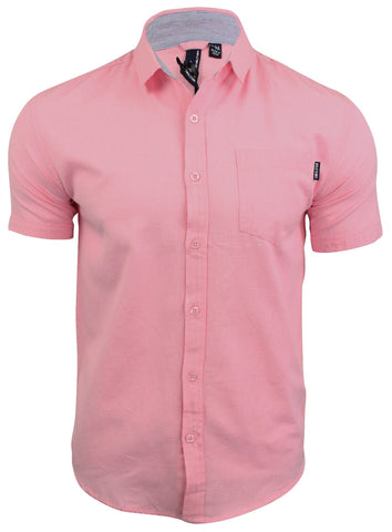 Pink Short Sleeve Shirt