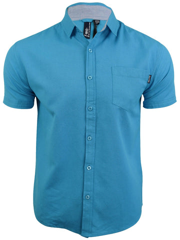 Aqua Short Sleeve Shirt