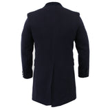 Navy Stylish Overcoat