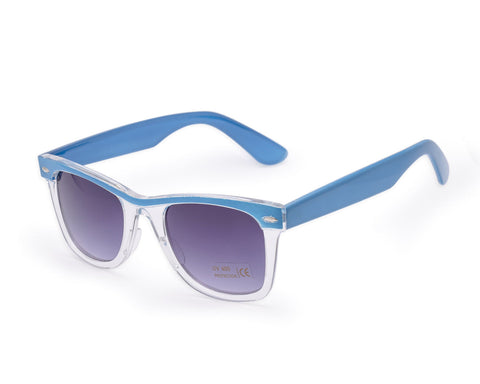 Clear Front Wayfarer Sunglasses