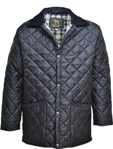 Black Diamond Quilted Jacket