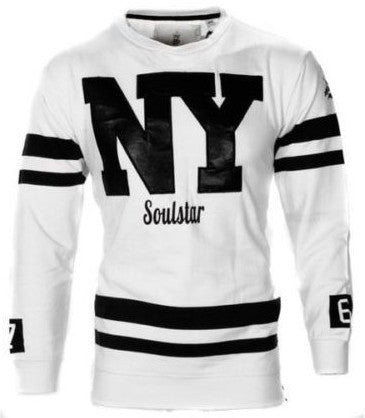 White NYC Jumper