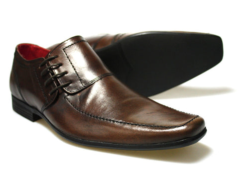 Stylish Brown Side Laced Shoes