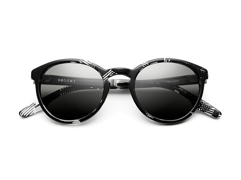 IVI | Brooks  Grey Polarized | Polished Dazzle Gunmetal - Man Cave - 1