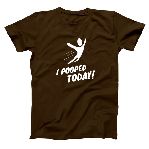 I Pooped Today (Adult) Men's T-Shirt