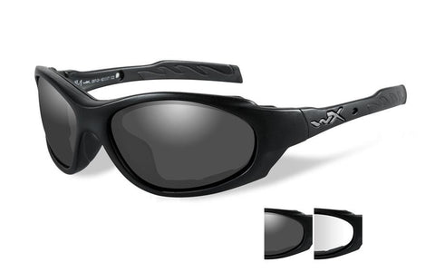 Wiley X XL-1 Advanced, Matte Black Frame, Gray/Clear Lens